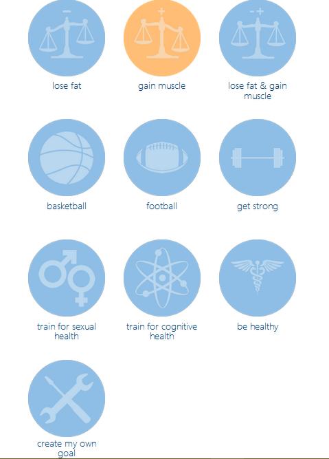 Nastavení cíle cvičení